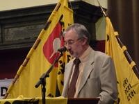 Geert Vandersickel: spreker en N-VA stichter (voorzitter tot 2011 en nu bestuurs